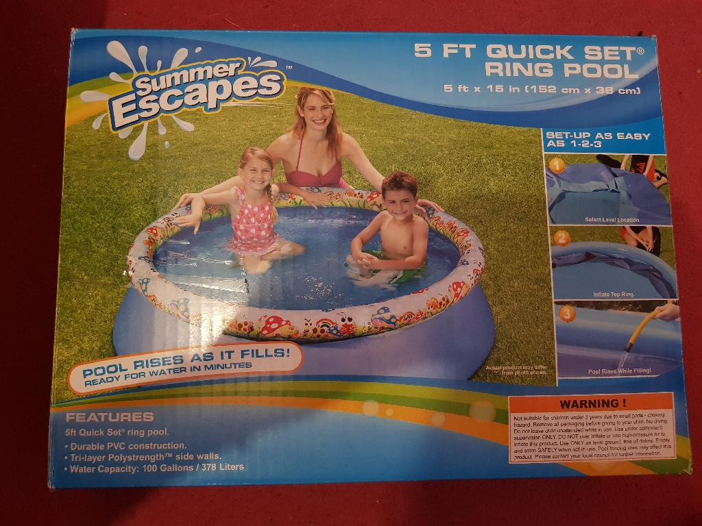 5 ft pool