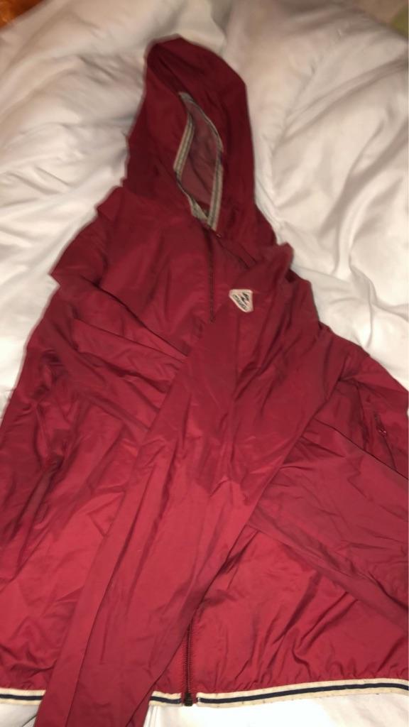 Women's red pyrenex jacket