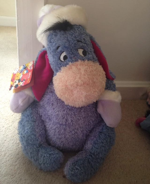 Disney Exclusive Winter Eeyore Teddy