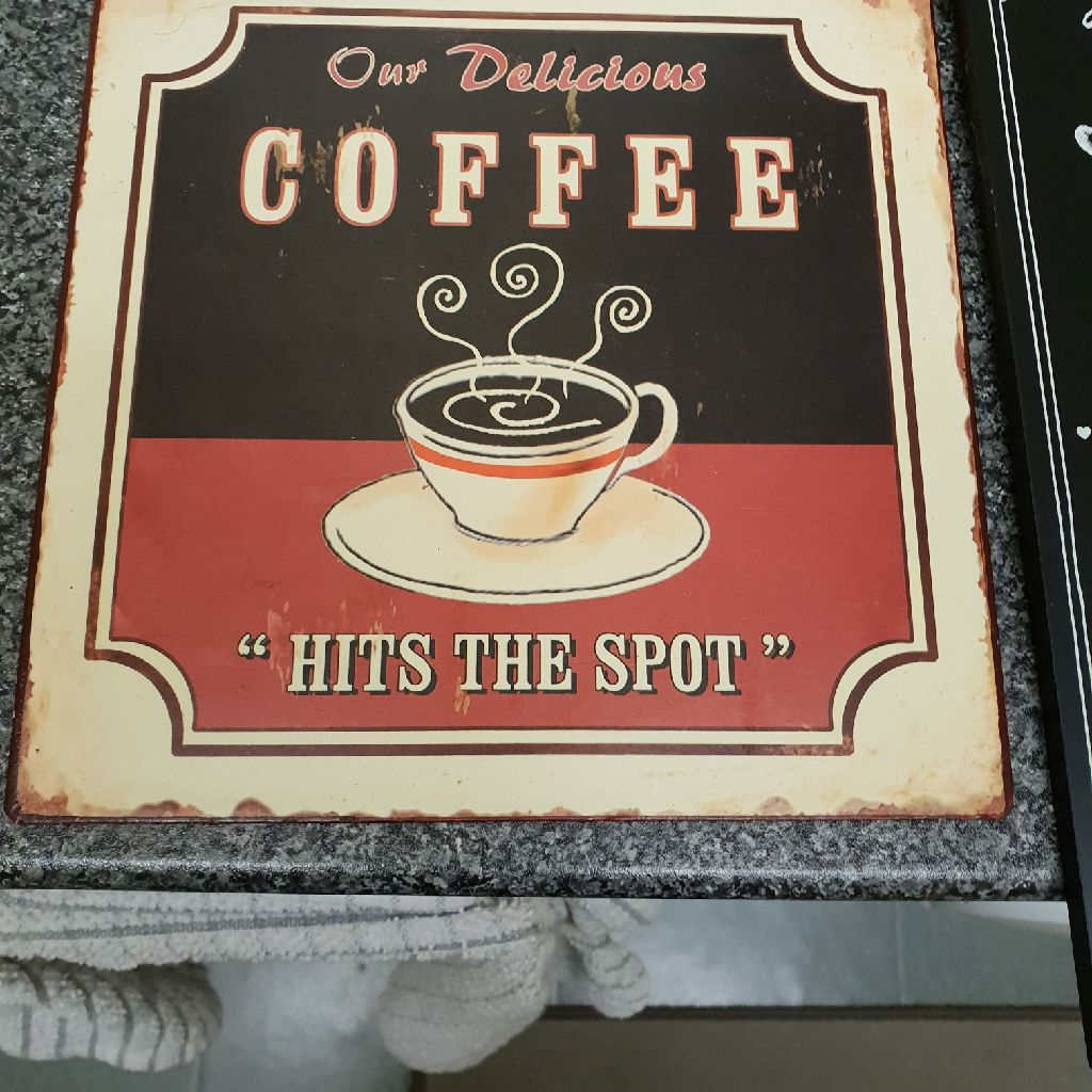 Coffee sighn