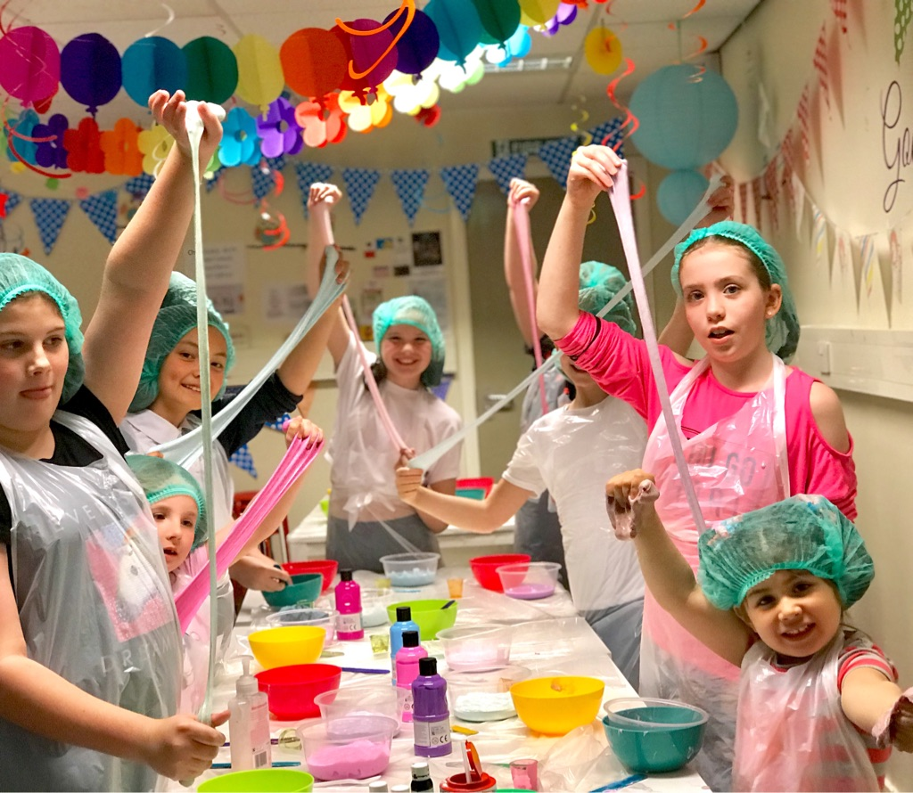 Slime making workshops and parties