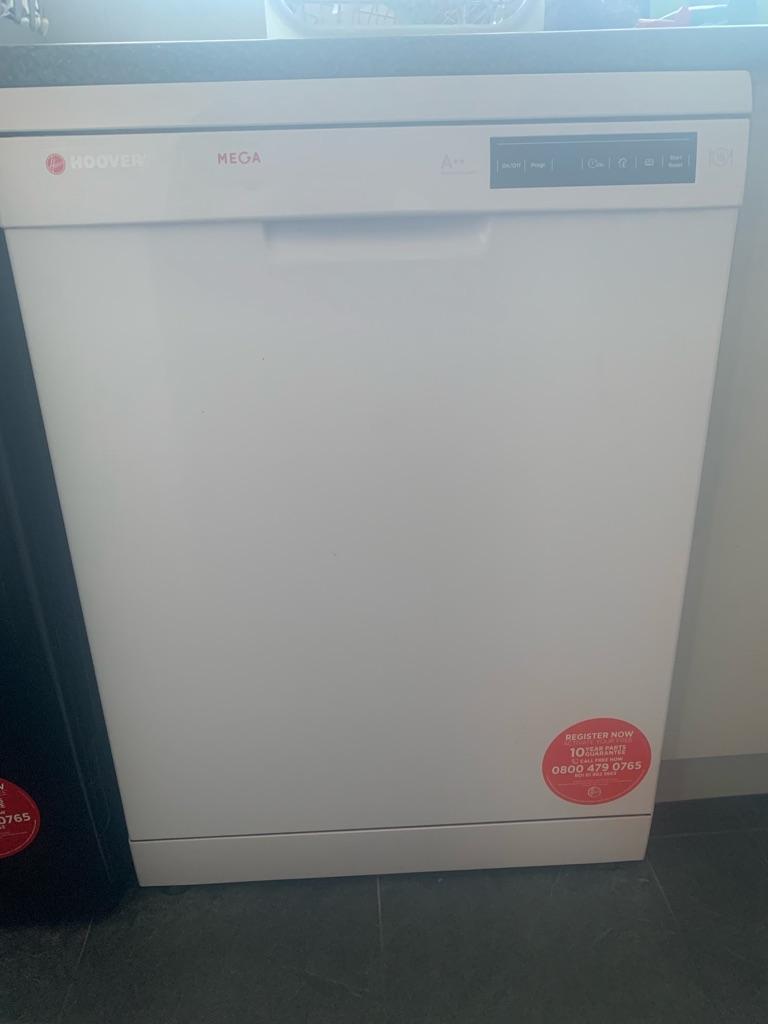 Hoover brand dishwasher