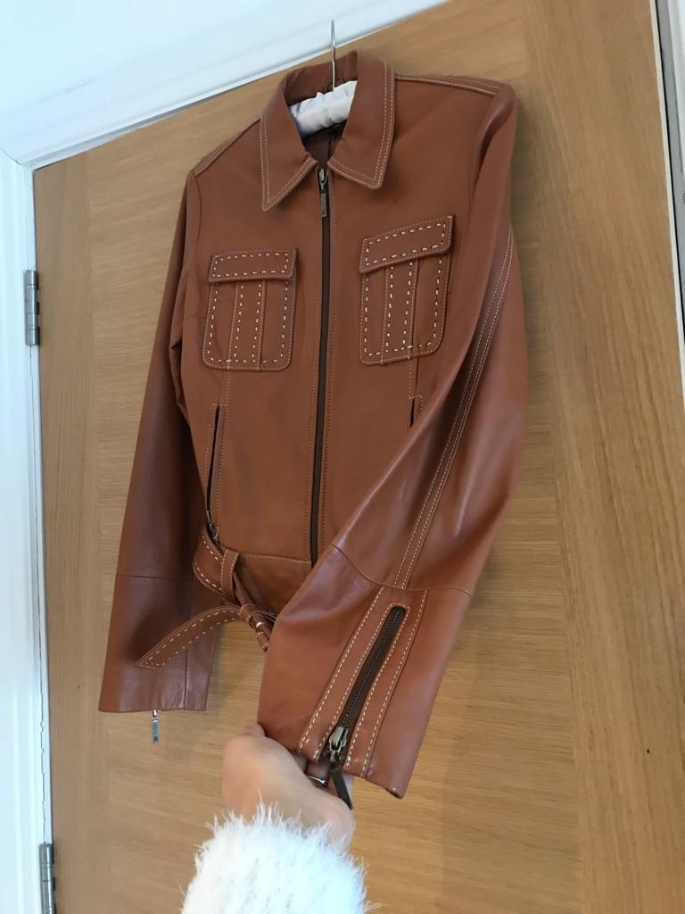 Tommy Hilfiger Soft Leather Jacket (size XS) AUTHENTIC