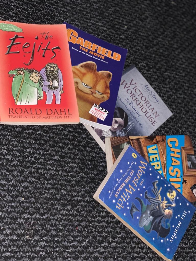 Bundle of books