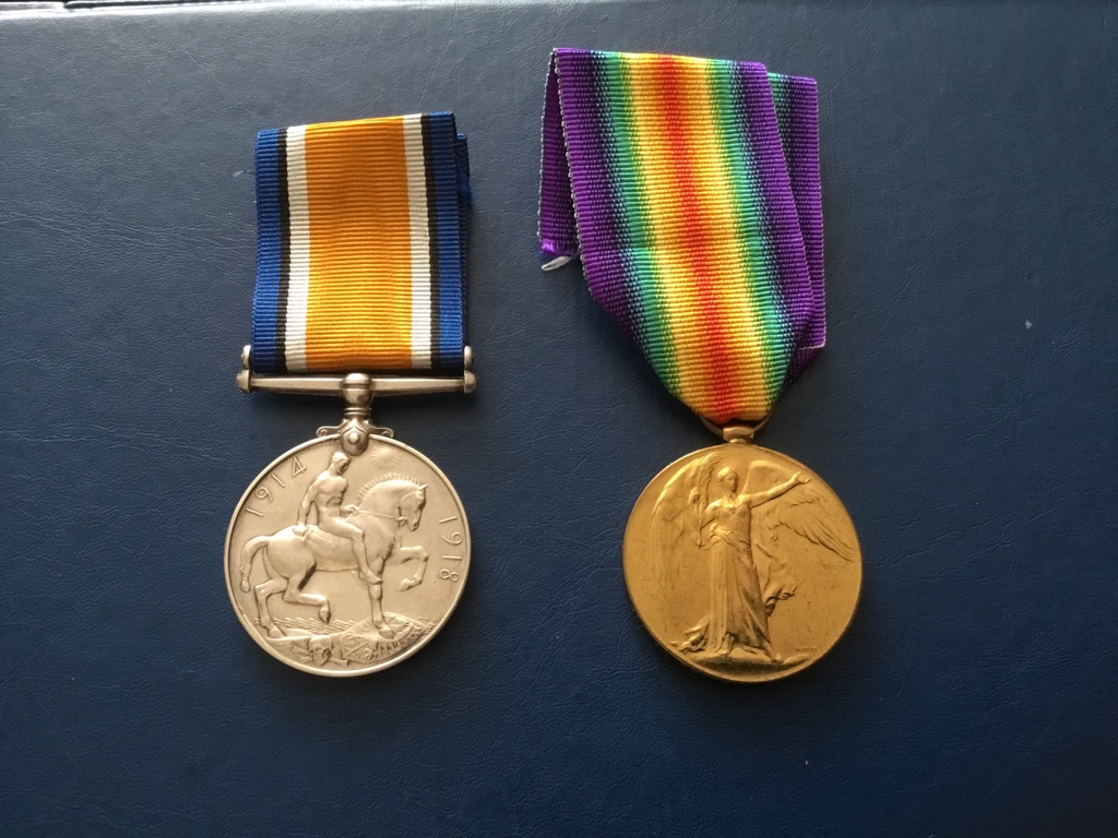 WW1 War Medal Victory Medal