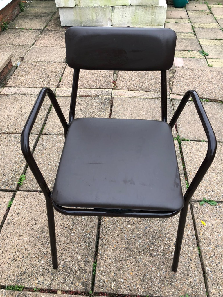 Brown Commode Chair