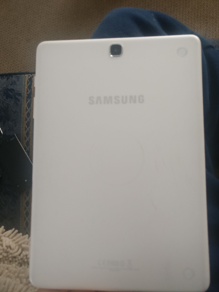 Samsung galaxy tab a 9.7 inch with case and charger
