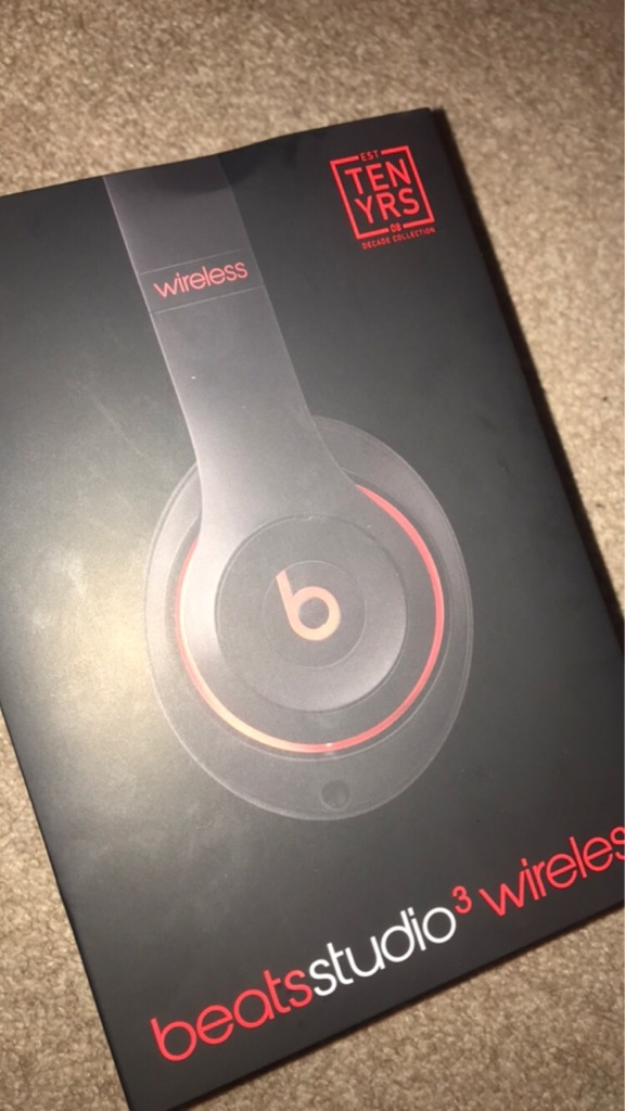 Dr Dre Beats Studio 3.0 Wireless