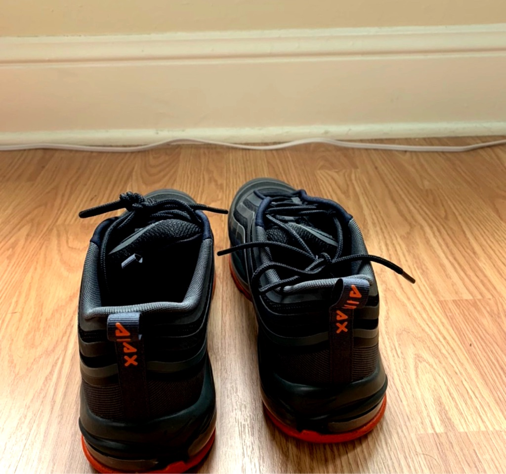 Nike 97s black/red