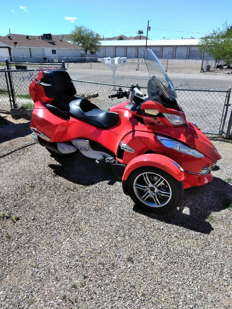 2012 Can-Am Spyder SE5