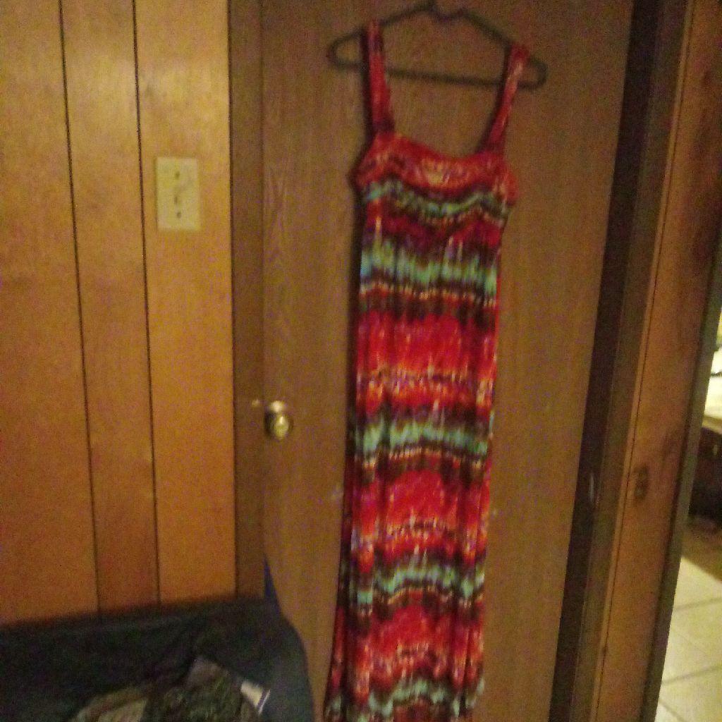 Tiedye summer dress x large