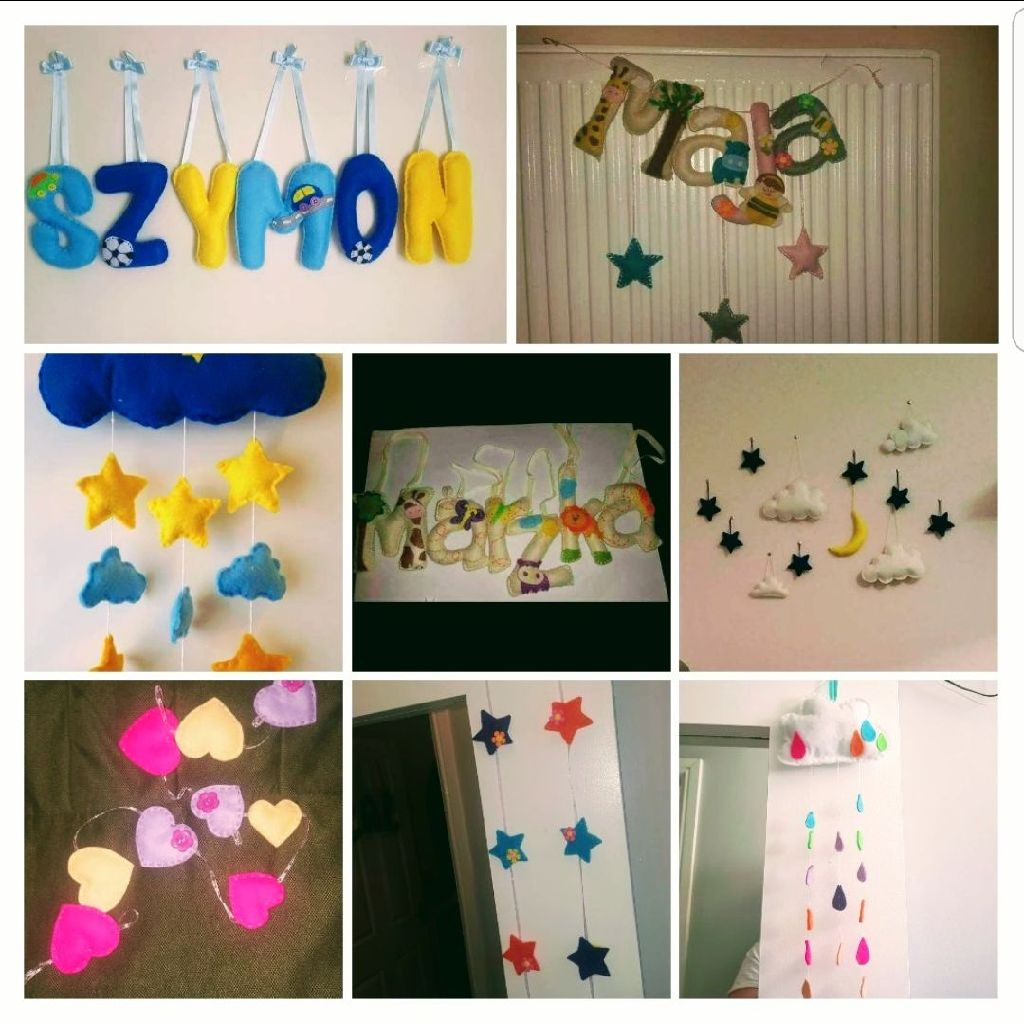 Felt decorations