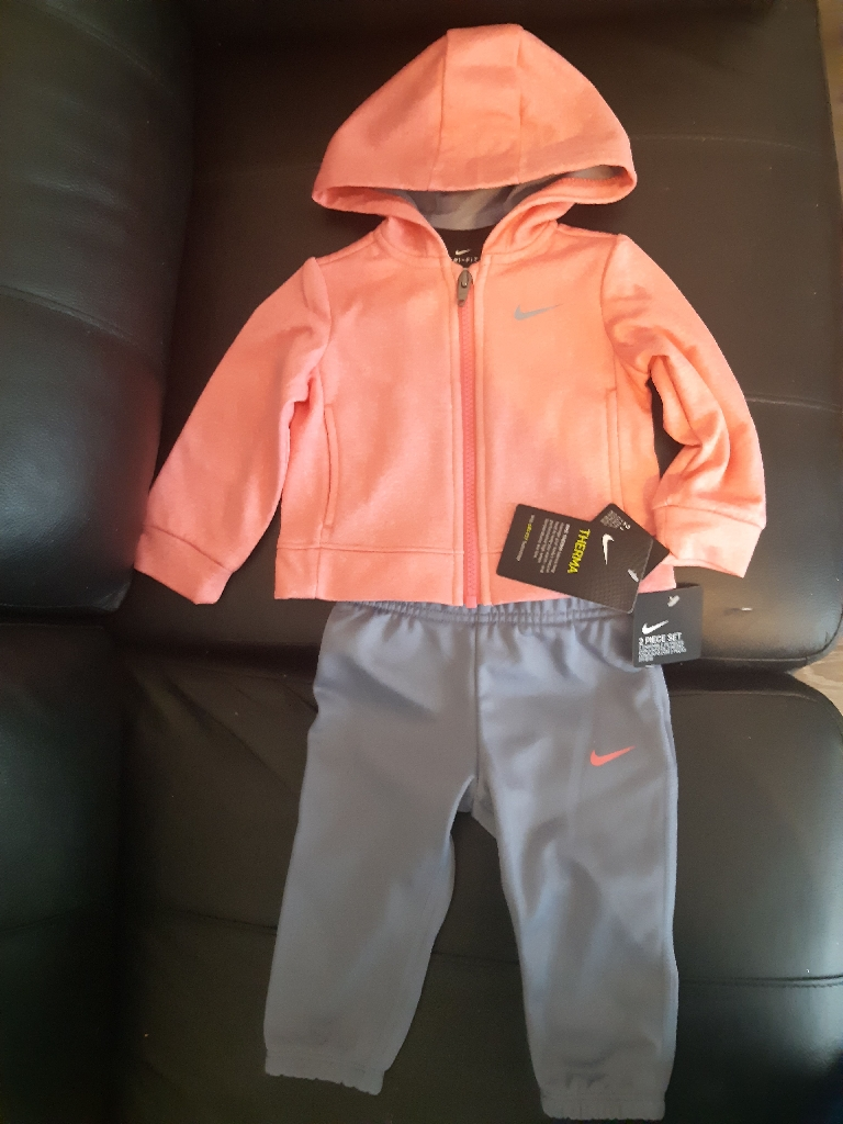 Baby girls Nike tracksuit 12months