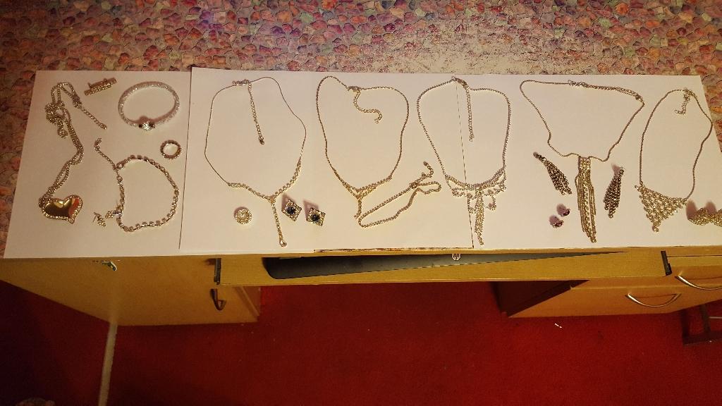 Sparkly  costume jewelry