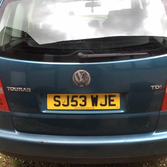 VW Touran 1.9 TDi 2003