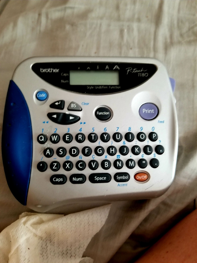 Brother P-touch 1180 Label Maker
