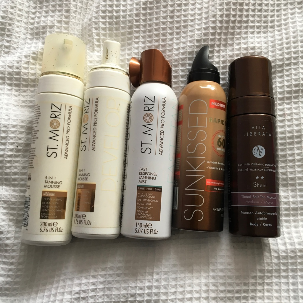 Bundle tanning items