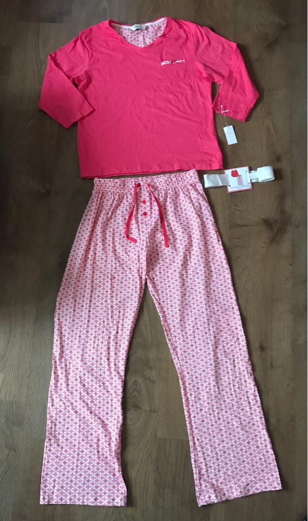 NWT Womens PRIMARK Pink Medium Night Suit