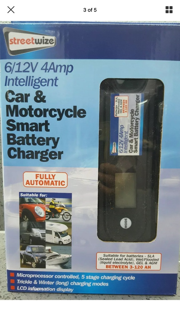 Car and motorcycle charger