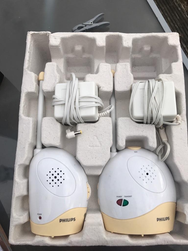 wireless Philip baby monitor