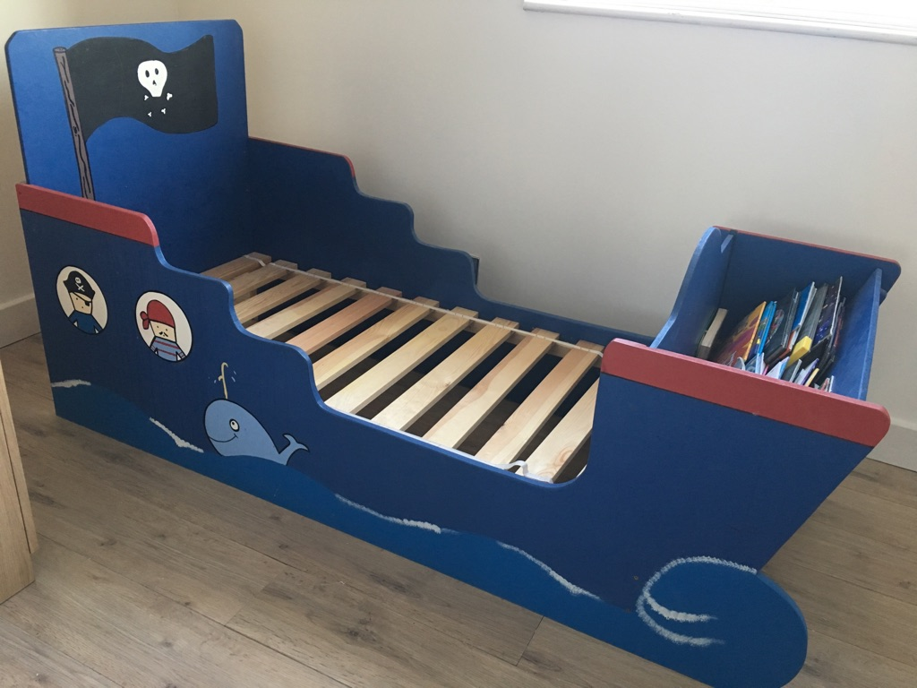 Pirate Themed Toddler Bed
