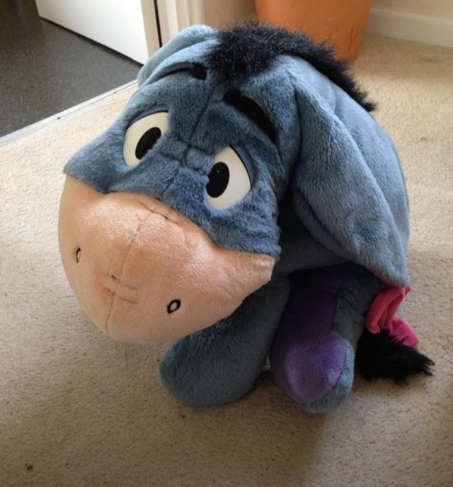 Large Disney Talking Eeyore Teddy