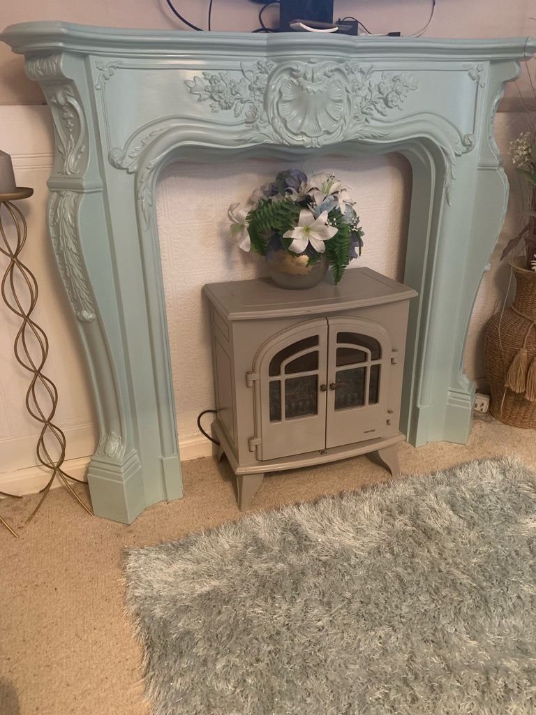 Fire surround and fire for sale