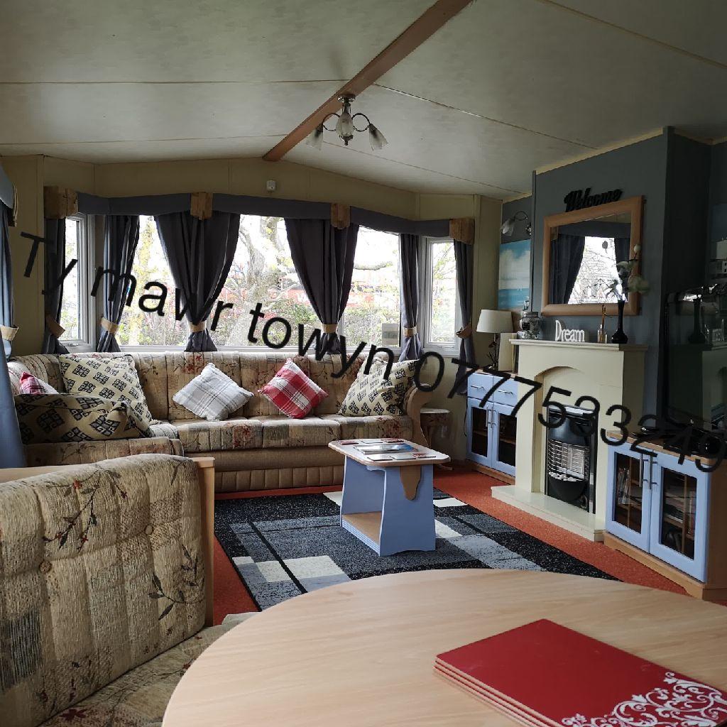 Caravan hire ty mawr towyn North Wales