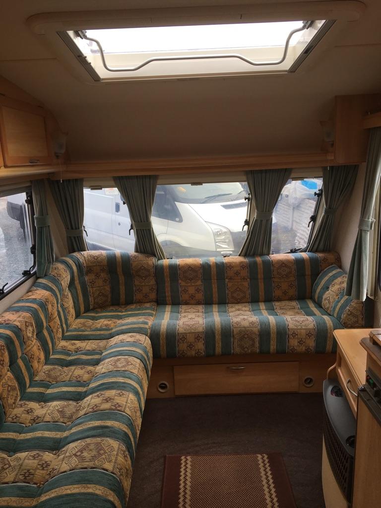 Sterling Europa touring caravan