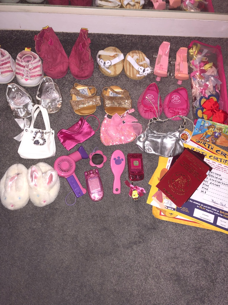 Build a bear job lot
