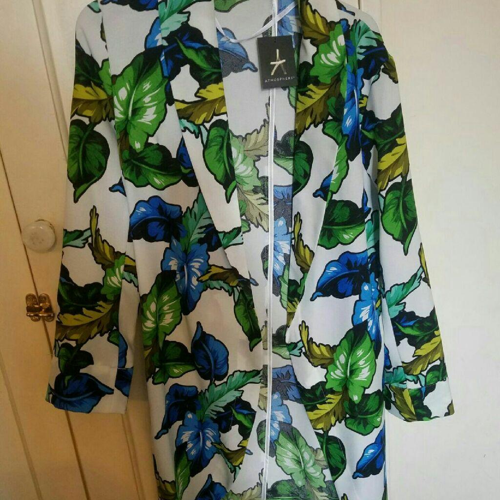 Floral summer jacket