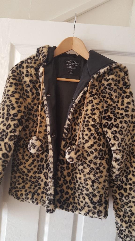 Cute Furry Leopard Jacket - 8
