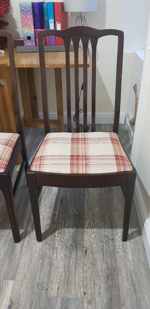 Two Stag Dining Chairs