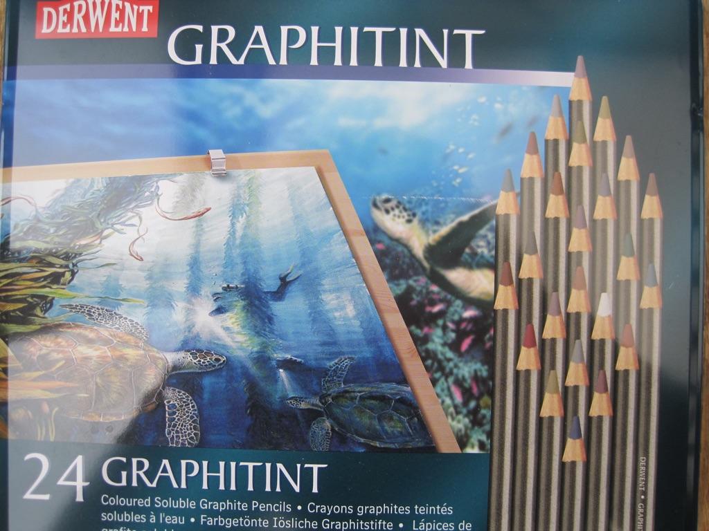 24 Derwent Graphitint pencils