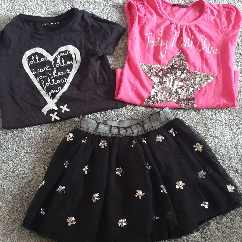Girls outfit, size 6/7