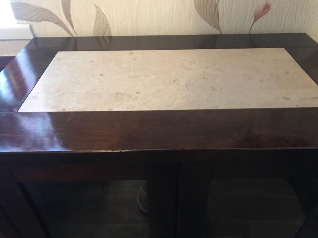 Mango type wood cabinet