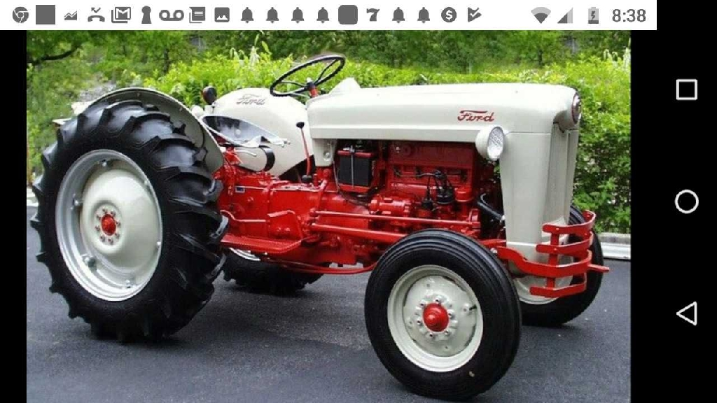 1953 Ford Julibee Tractor Rebuilt
