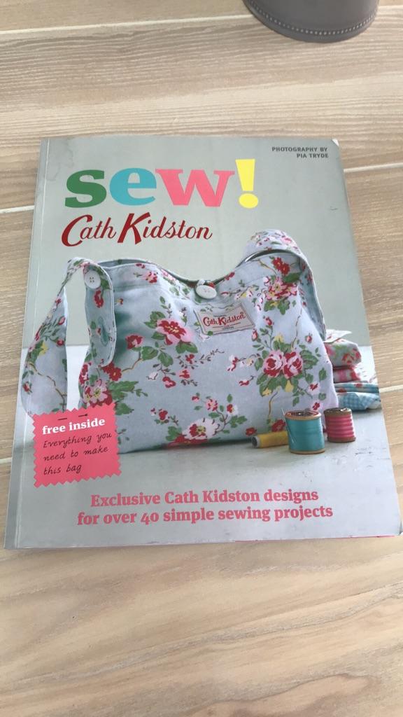 Cath Kidston sewing books