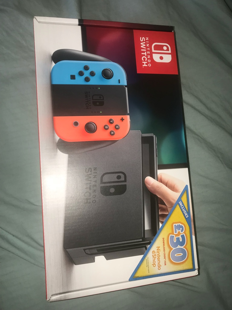 Nintendo switch console brand new sealed
