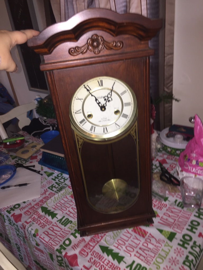 31 day chime Waltham clock