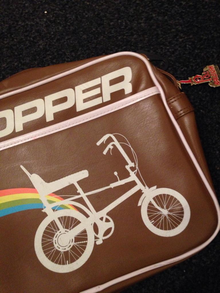 Vintage chopper bag