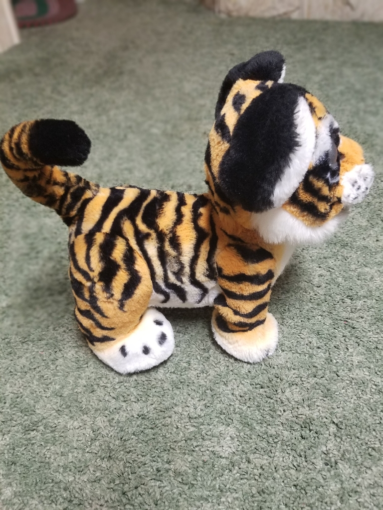 Fur Real Roarin Tyler, the playful tiger