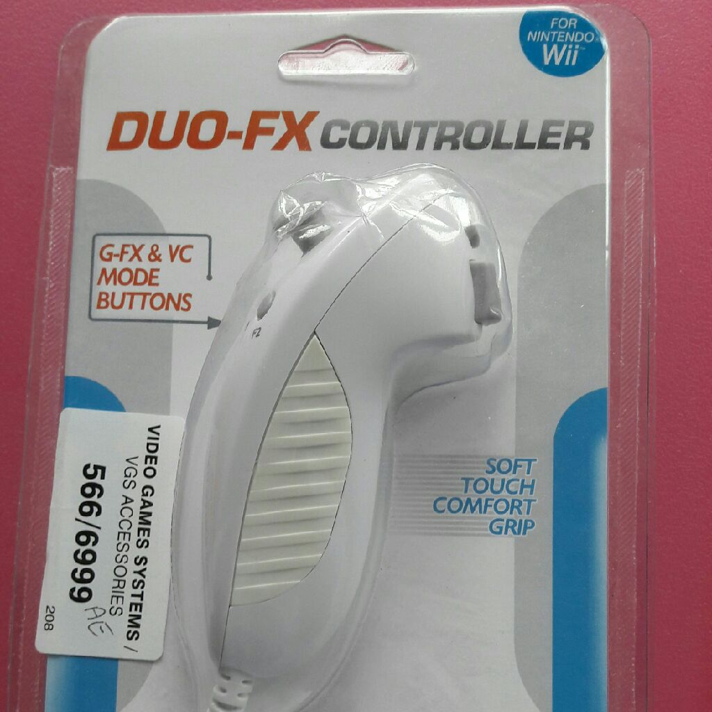 DUO-FX Controller for Nintendo Wii