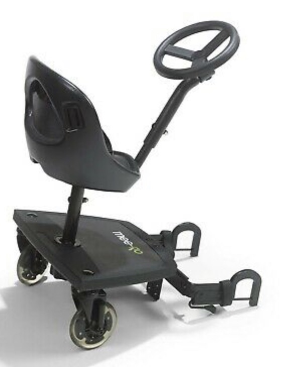 Sit and go buggy board