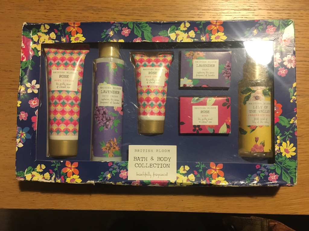 British Bloom Bath & Body Set