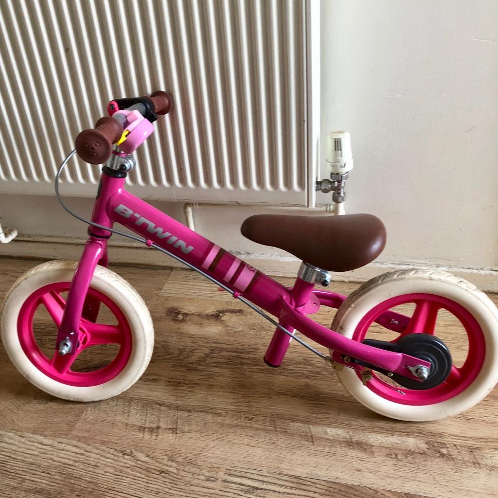 B'TWIN balance bike girls