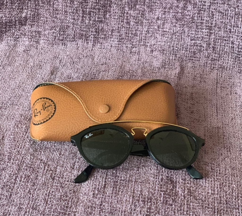 Black RayBans Sunglasses