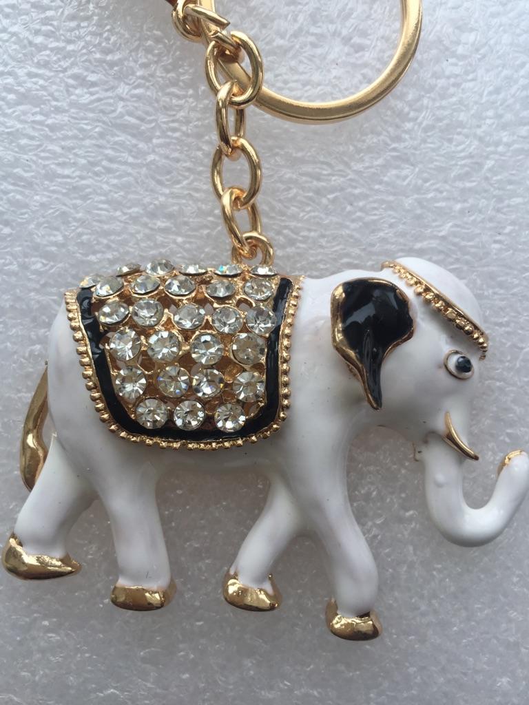 Keys ring holder with elephant **** 4