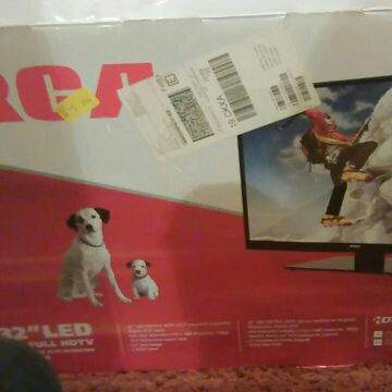 New in box 32 HD TV