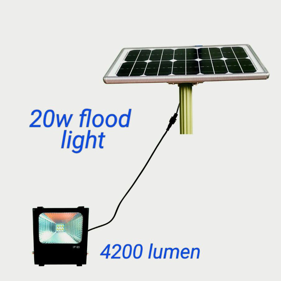 20w solar industrial flood lights 4200lm